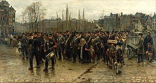 Passage des troupes coloniales
