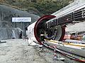 Isabelle - tunnel del Gran San Bernardo.JPG