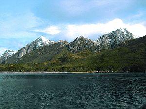 Isla de los Estados - Puerto Cook, north coast