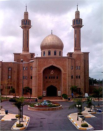 Religion in Ivory Coast - Central mosque in Marcory.