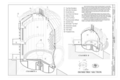 Isometric Section, Chambers A and B - NASA Johnson Space Center, Building No. 32, Space Environment Simulation Laboratory, Chambers A and B, 2101 NASA Parkway, Houston, HAER TX-109-B (sheet 6 of 7).png