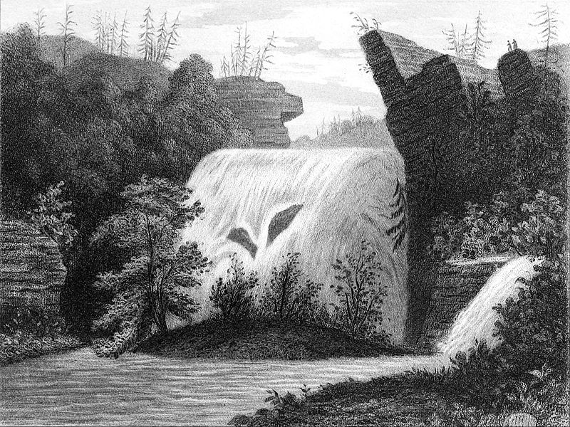File:Ithaca Falls by Edwin Whitefield.jpg