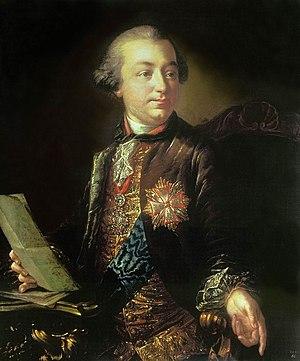 Ivan Shuvalov - Ivan Shuvalov by Anton Losenko