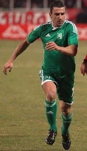 Ivan Stoyanov (footballer, born 1983) - Stoyanov playing for Ludogorets in 2011