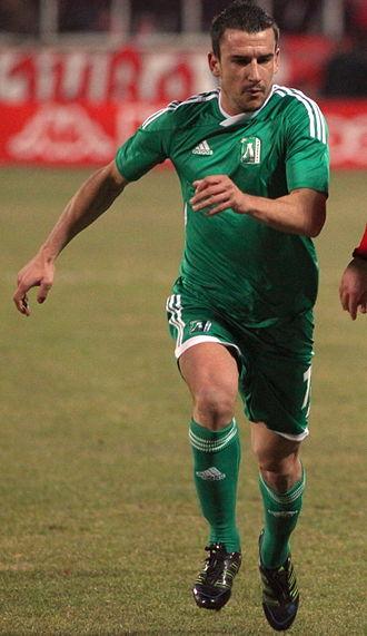 Ivan Stoyanov (footballer, born 1983) - Stoyanov playing for Ludogorets in 2011