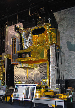 ALOS spacecraft model