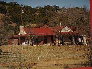National Register of Historic Places listings in Armstrong County, Texas - Image: JA Ranch IMG 0052