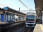 JRE 209 at Kimitsu Station.jpg