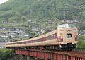 JRW EC 381 series JNR color kinoyama - butchu-kawamo.jpg