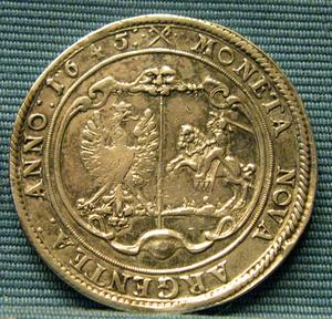 Jacob Kettler - Jacob Kettler's thaler, 1645.