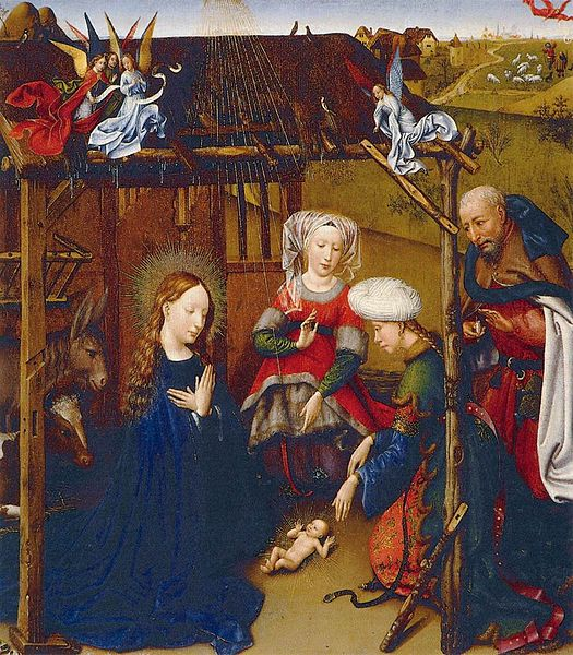 File:Jacques Daret - Adoration of the Child - WGA5933.jpg