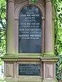 Jakob Wirz-Nidecker (1856–1904), Georg Jakob Wirz-Rohner (1887–1937) Familiengrab bei der reformierten Kirche in Gelterkinden.jpg