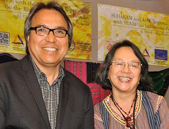 James Anaya - James Anaya with Victoria Tauli-Corpuz in Kuala Lumpur, March 2013