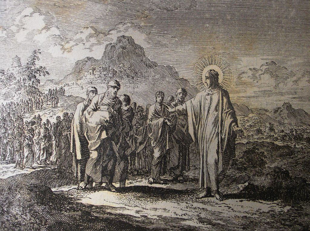 Jan Luyken's Jesus 16. The Rich Ruler. Phillip Medhurst Collection.jpg