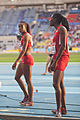 Janay DeLoach Soukup and Brittney Reese (2013 World Championships in Athletics).jpg