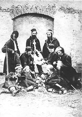 January Uprising participants at Święty Krzyż 1863.PNG