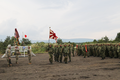 Japan Ground Self-Defense Force (JGSDF) Flag - Orient Shield 2017 Opening Ceremony.png