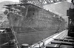 Japanese aircraft carrier Sōryū - Image: Japanese aircraft carrier Soryu 1937