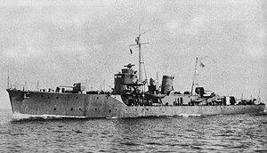 Kaibōkan - Image: Japanese escort ship Etorofu 1943