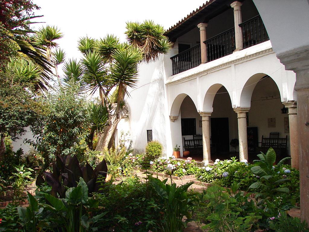 Detalle del patio de la Casa Museo de Juan Vargas
