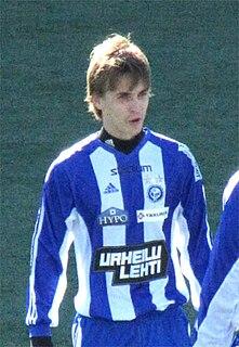 Jarno Parikka Finnish footballer