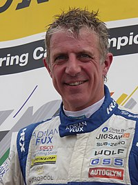 Jason Plato - 2017 BTCC Knockhill (Sunday, R2 podium).jpg