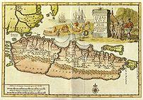Early 18th century Dutch map.