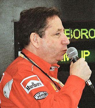 Jean Todt - Todt in 2001
