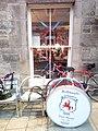 Jedbrugh pipe band outside the Canon pub.jpg