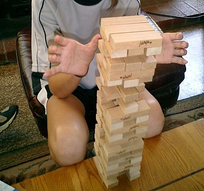 Picture of a game: Jenga