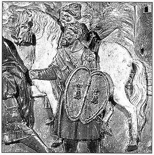 Jennet - A medieval jennet.