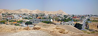 Jericho - The city of Jericho from the ruins of the old walls