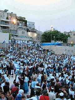 Religious Zionism Ideology that combines Zionism and Orthodox Judaism