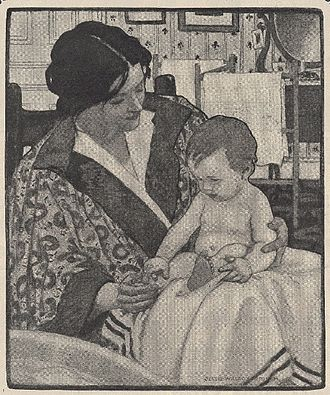 Jessie Willcox Smith - Ivory Soap illustration, 1901
