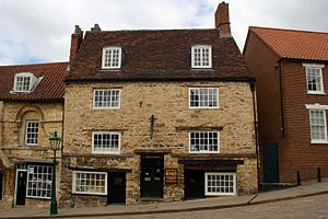 Society for Lincolnshire History and Archaeology - Image: Jew's Court, Lincoln 1