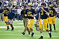 Jim Harbaugh, Jake Rudock, and Wilton Speight in 2015.jpg