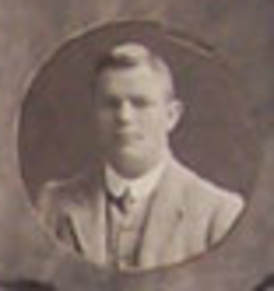 Jim Webb (rugby) - Jim Webb with the British Isles team in 1910