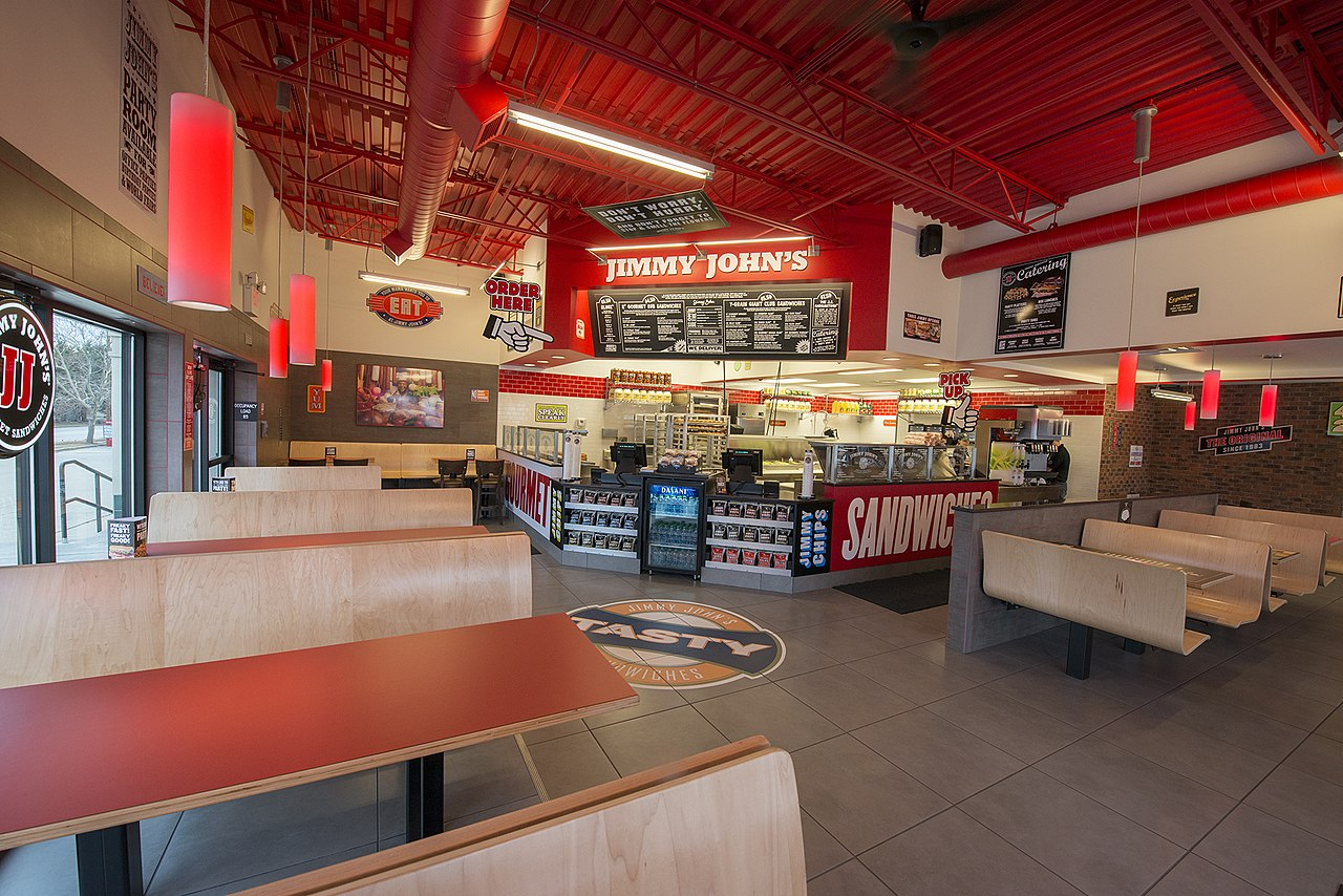 File:Jimmy John store interior with new design launched ...