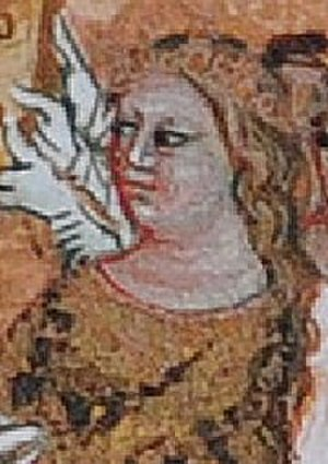 Judith of Schweinfurt - Depiction in the Chronicle of Dalimil, 14th century