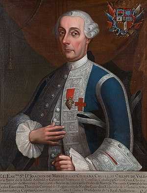 Joaquín de Montserrat, marqués de Cruillas - Joaquín de Montserrat, marqués de Cruillas, Viceroy of New Spain