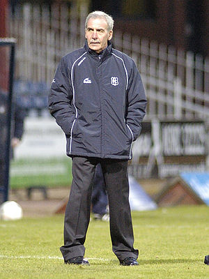 Jocky Scott - Scott as Dundee manager, 2009