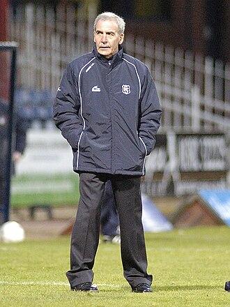 Jocky Scott - Scott as Dundee manager, 2009