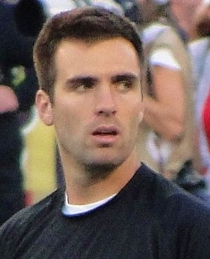 Ivy League (haircut) - An Ivy League cut worn by NFL quarterback Joe Flacco.