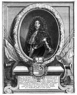 John Francis Desideratus, Prince of Nassau-Siegen - John Francis Desideratus of Nassau-Siegen