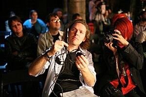 Arse Elektronika - Arse Elektronika's curator Johannes Grenzfurthner (at Arse Elektronika 2007)
