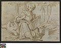 Johannes op het eiland Patmos, 1501 - 1600, Groeningemuseum, 0041320000.jpg