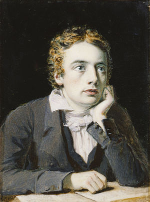 Ode on a Grecian Urn - John Keats in 1819, painted by his friend Joseph Severn