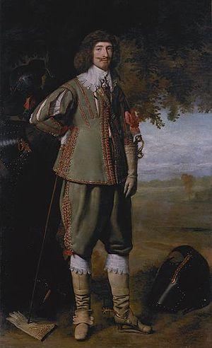 John Ashburnham (Royalist) - John Ashburnham around 1630, portrait by Daniel Mytens.