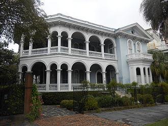Edward C. Jones - The John Ashe, Jr. House at 26 South Battery, Charleston, South Carolina