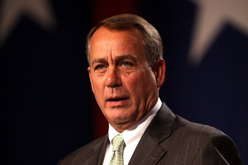 republican party, john boehner, government shutdown, boehner job security